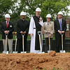 Trappists Break Ground : On May 11 people gathered at the Monastery of the Holy Spirit for the  groundbreaking of its Public Gathering Space and Visitors Center, the Monastic Heritage Center.