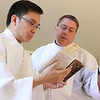 2012 Rite of Ordination to the Priesthood : Two seminarians, Tri Nguyen and Mark Starr, were ordained to the priesthood on June 2, 2012 at the Cathedral of Christ the King, Atlanta.