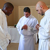2015 Transitional Diaconate Ordination : Roberto Suárez Barbosa, Carlos Cifuentes and Valery Akoh were ordained to the transitional diaconate on May 30 at the Cathedral of Christ the King, Atlanta.