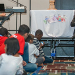 Archbishop Wilton Brings the Eucharistic Adoration to the Children/ kids Track Saturday to give a brief talk and sing praise and worship with the Catholic Children of Atlanta. The Eucharisti ...