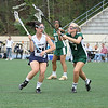 Marist School (Lacrosse) : The Marist School girls varsity lacrosse team ended a three-game losing streak with a 19-10 over the Wesleyan School on April 7.