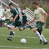 Pinecrest Soccer (Boys) : The Pinecrest Academy boys varsity soccer team lost to the Wesleyan School 2-1 during its April 6 home match.